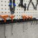工具の壁掛けに最適? ストレート ツールホルダー 230mm 19-470